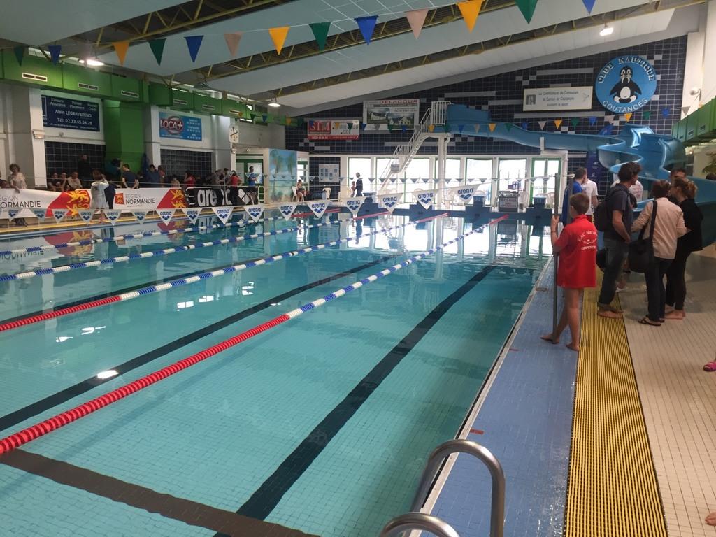 Nat 39 avenir final r gionale coutances coeur de nacre natation for Piscine coutances